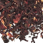 Hibiscus Flowers, Whole (Broken) - 1 Lb