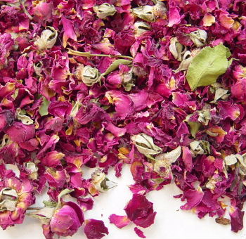 Rose Petals with Buds, Red - 1 Lb (may incur extra shipping costs)