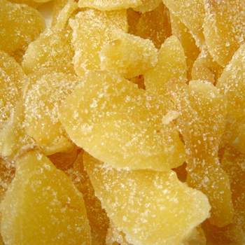 Ginger Slices, Crystallized - 1 Lb